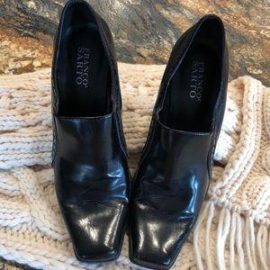 Franco Sarto black heels.